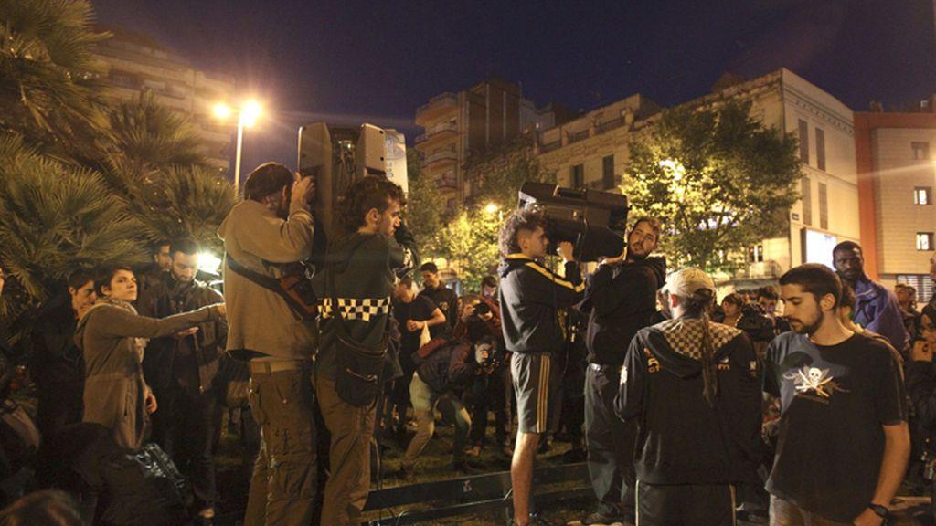 Nueva cacerolada en protesta por la demolición de Can Vies