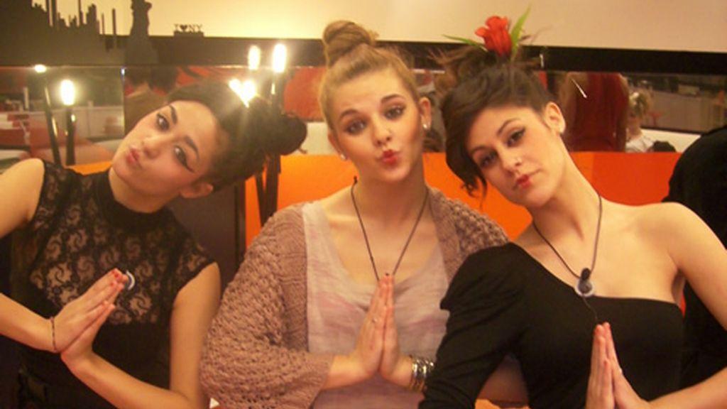 Geisas Sonia, María y Aroa