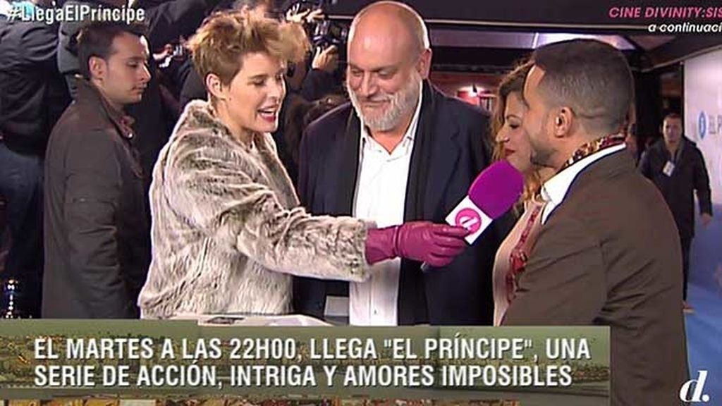 Thaïs Blume, Ayoub El Hilali y Juanma Lara