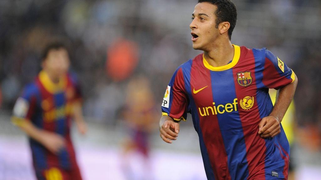 Thiago Alcantara, jugador del Barcelona