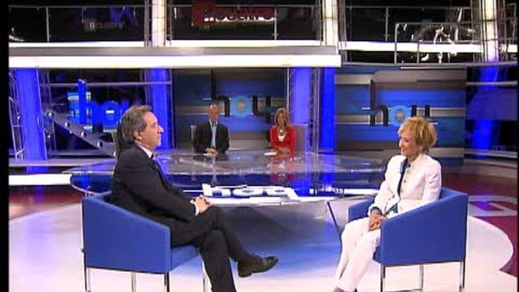 Iñaki Gabilondo entrevista a De la Vega