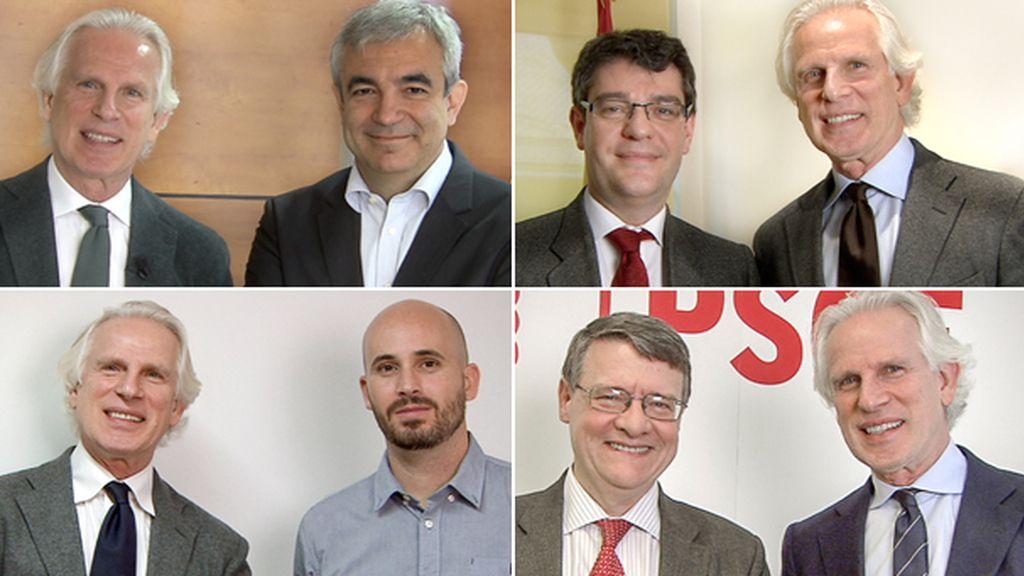Foto entrevistas políticos