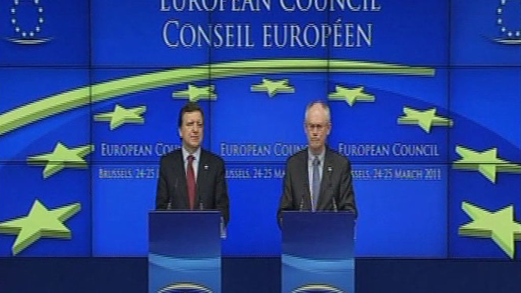 Los Veintisiete blindan el euro y se preparan para lo peor mirando a Portugal