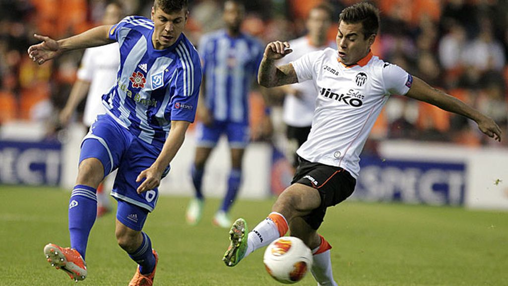 El Valencia, contra el Dinamo