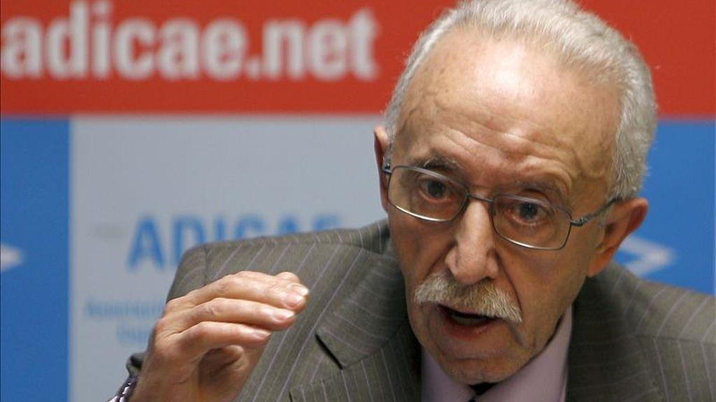 El presidente de la ADICAE, Manuel Pardos. EFE/Archivo