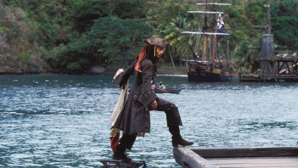 La Perla Negra,barco,Piratas del Caribe,