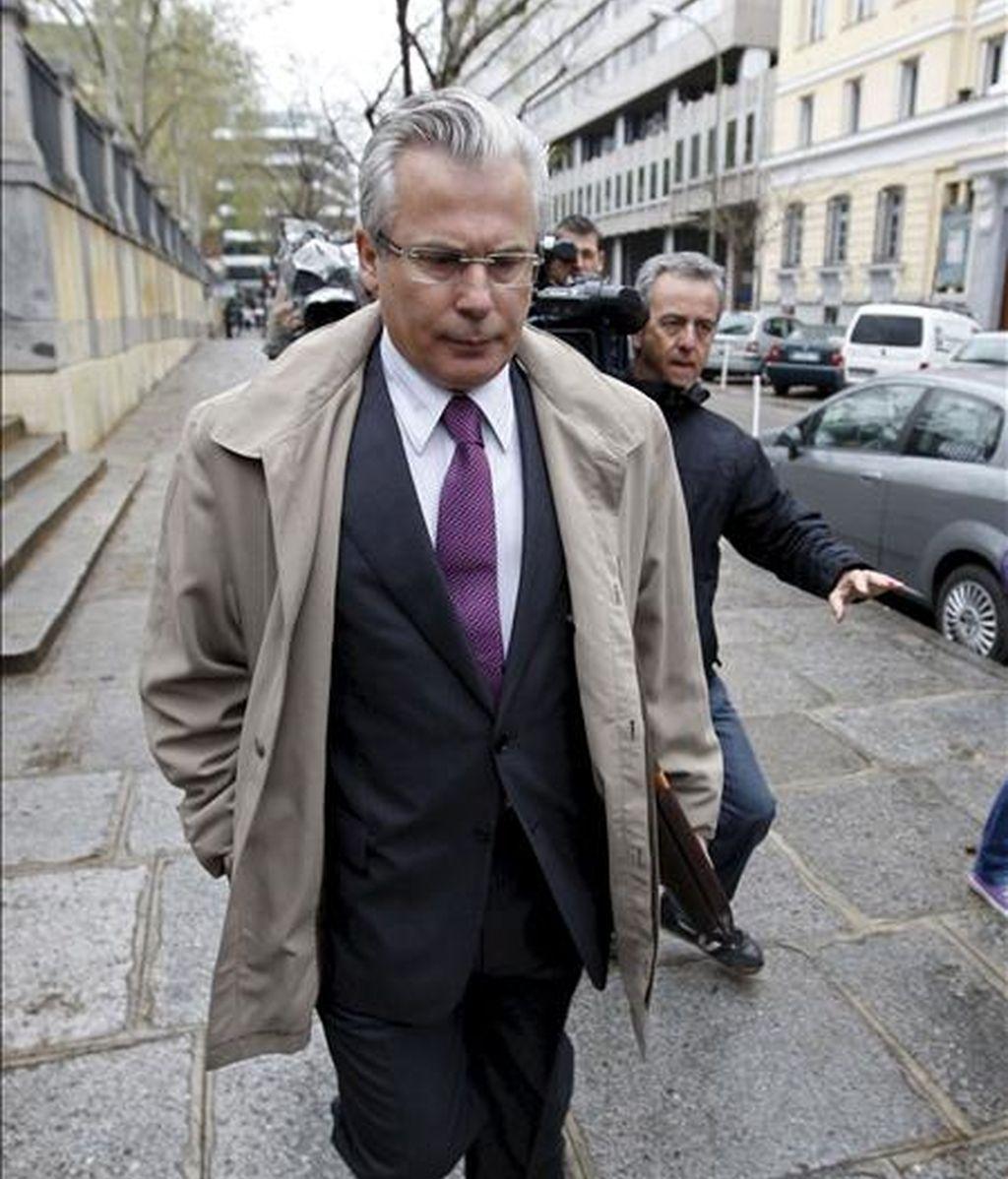 El juez Baltasar Garzon. EFE/Archivo