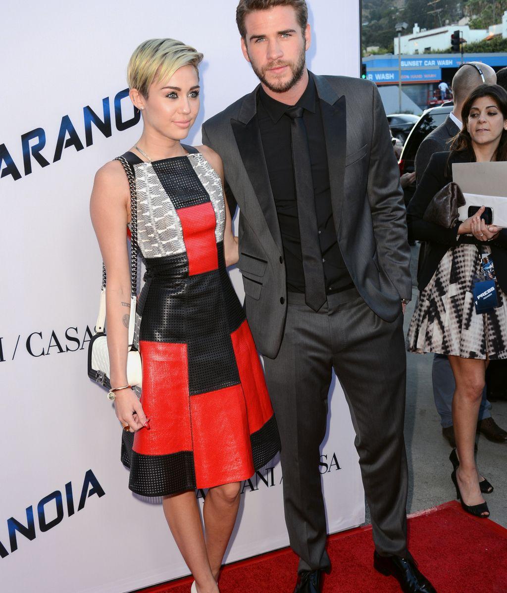Miley Cyrus Liam Hemsworth, comprometidos