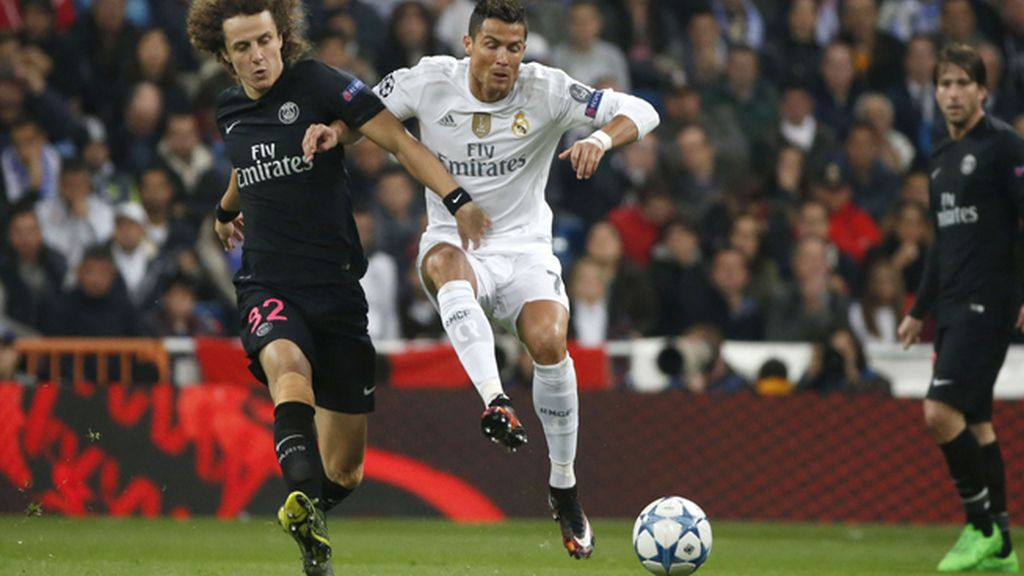 Real Madrid ante Paris Saint-Germain, Liga de Campeones