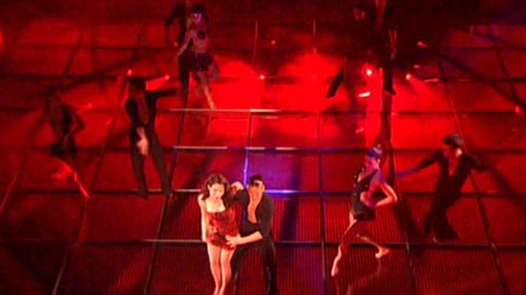 El baile de Pilar Rubio (Gala 9)