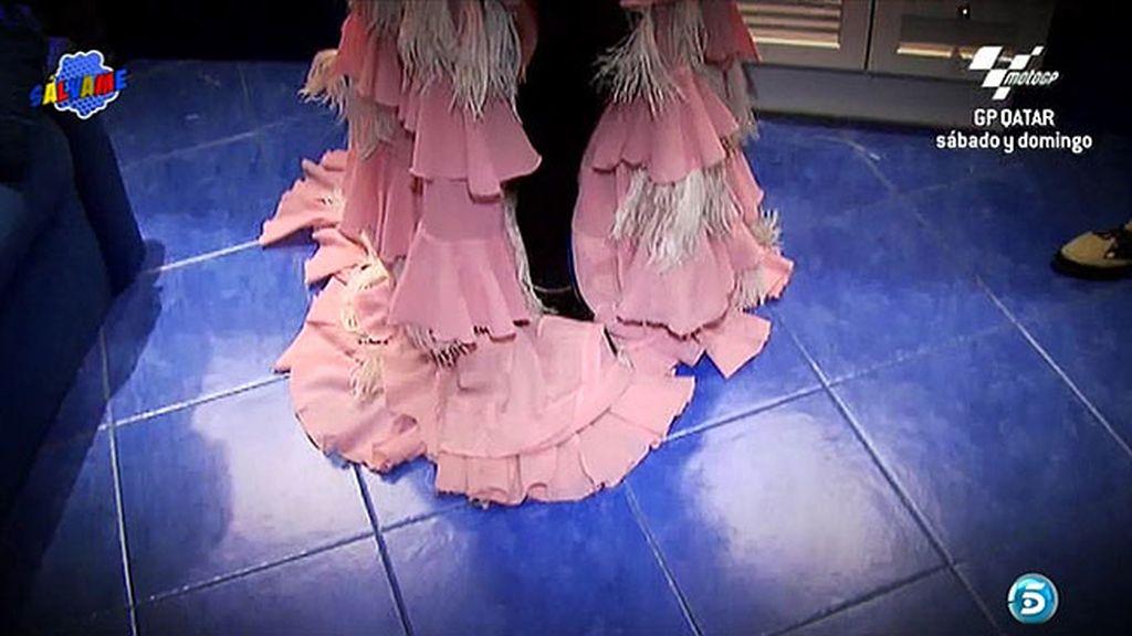 ¿Cómo irá vestida Rosa Benito en su debut en 'The Hole'?