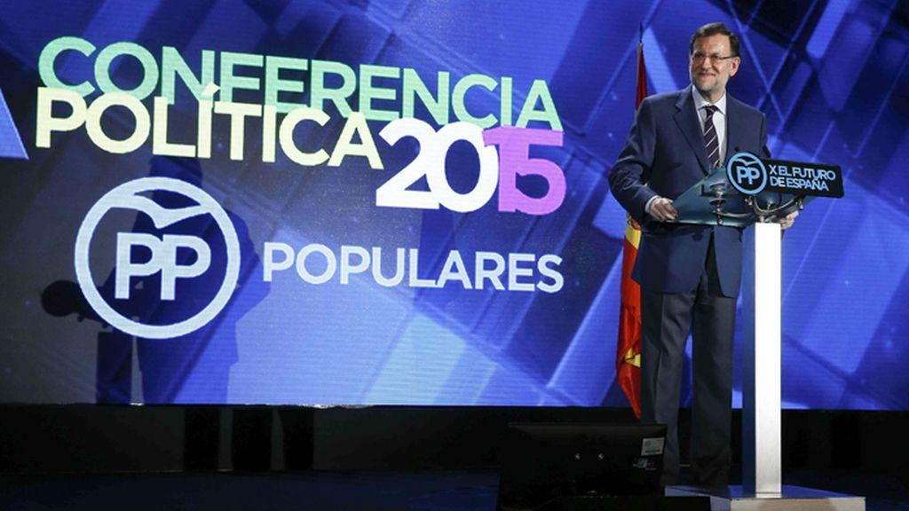 Mariano Rajoy inaugura la Conferencia Política del PP