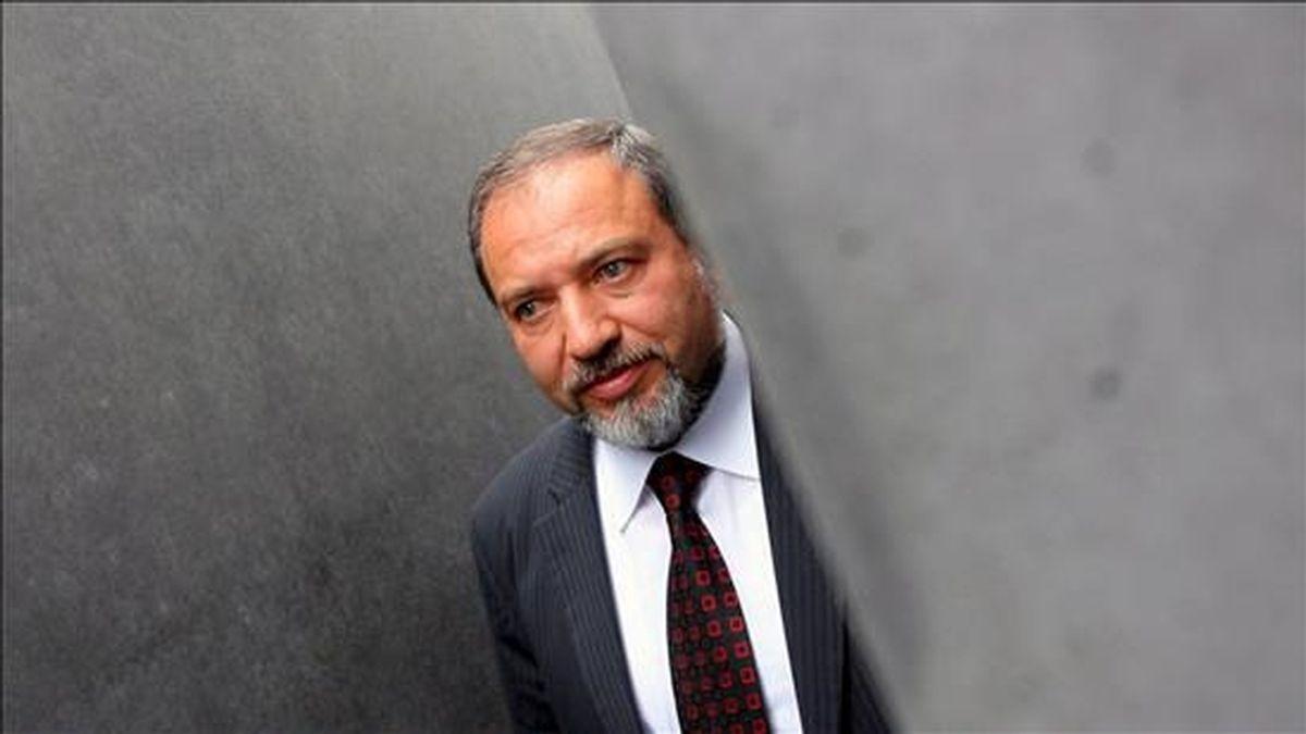El ministro israelí de Exteriores, Avigdor Lieberman. EFE/Archivo