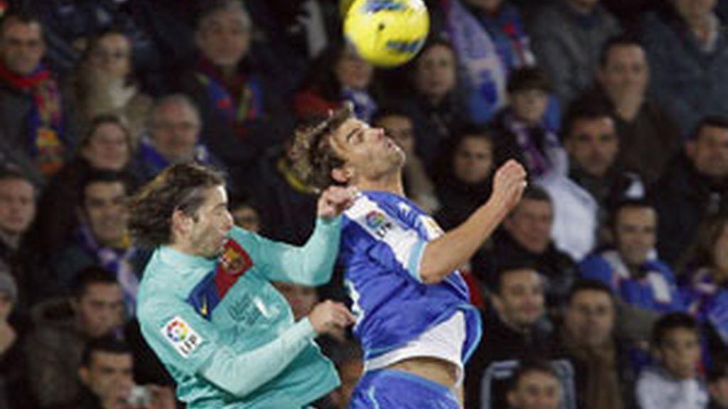 El Barça deja escapar tres puntos FOTO: EFE