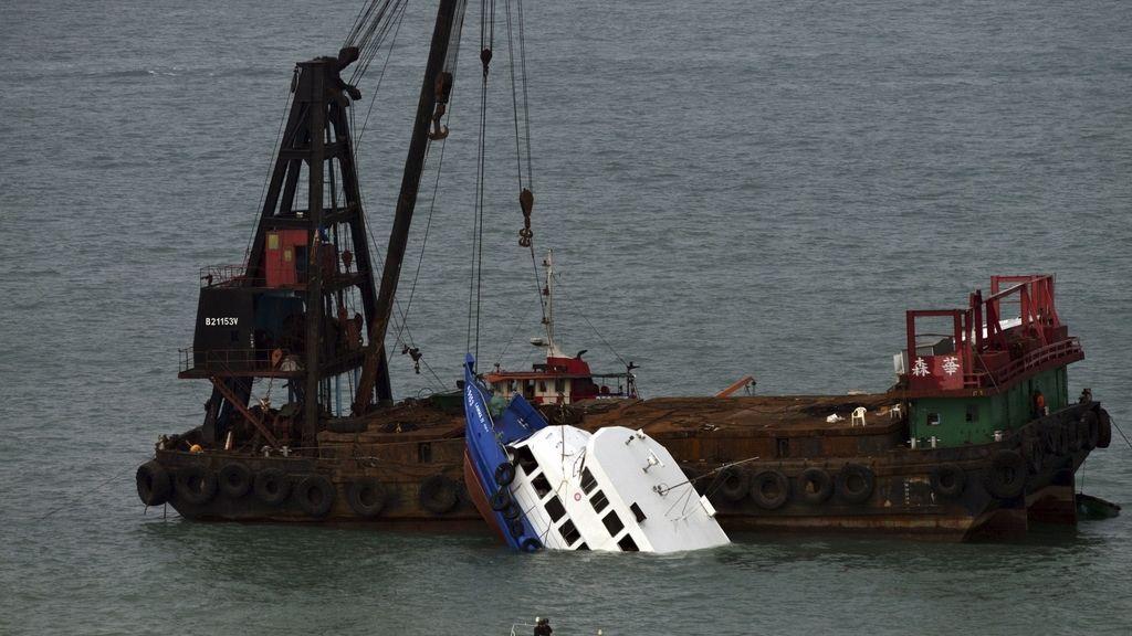 Siete detenidos por la colisión de dis barcos en China