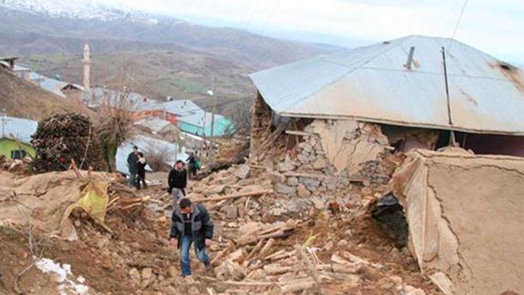 En 2010, otro terremoto tuvo lugar en Turquía. Foto: EFE