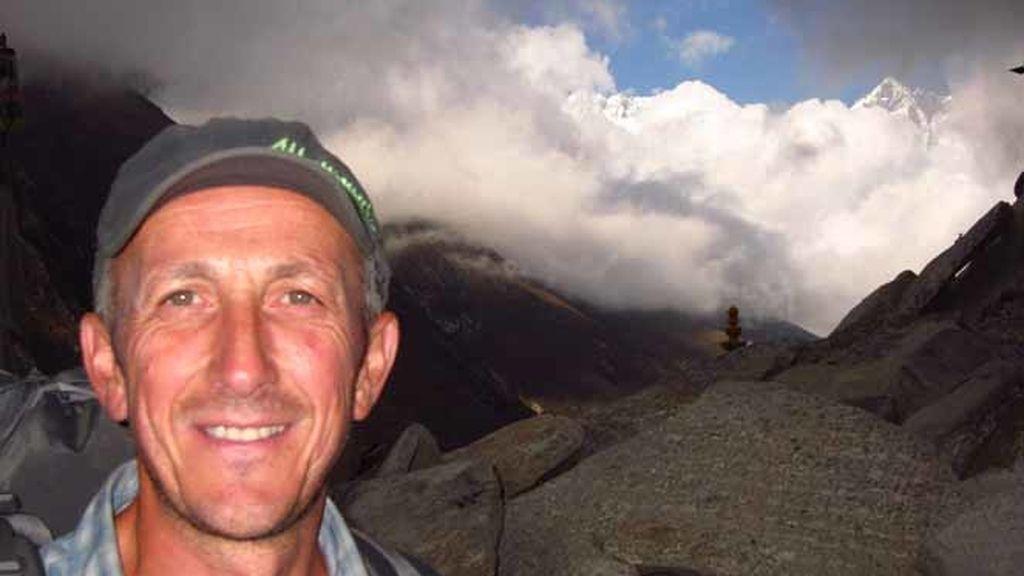 Kike Calleja, especialista en escalada