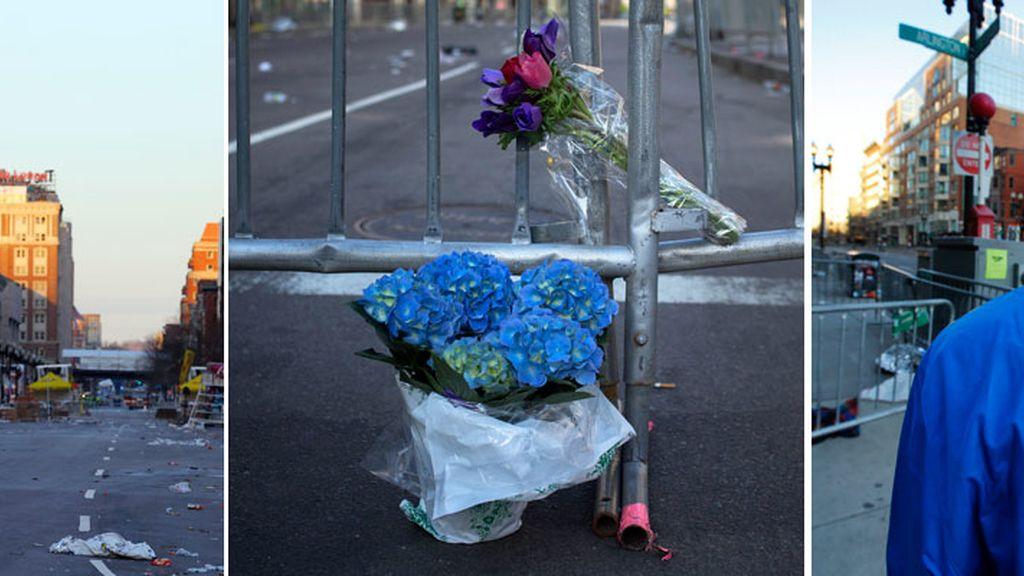El día después tras las explosiones en Boston