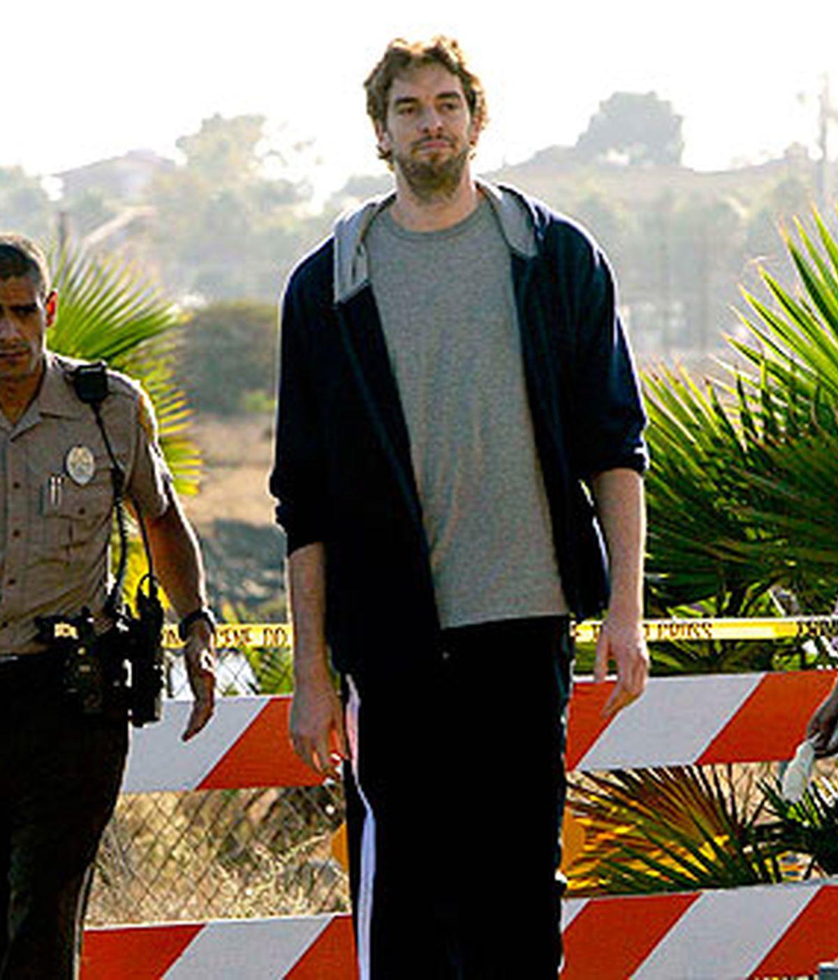 Pau Gasol, en 'CSI MIami'
