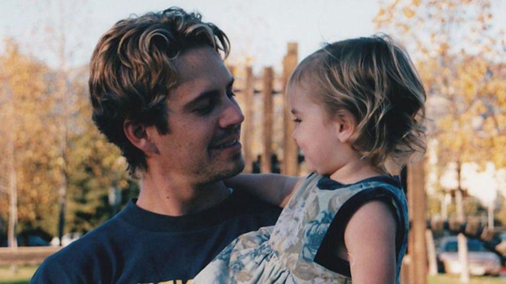 La hija de Paul Walker recuerda a su padre en el día de su cumpleaños