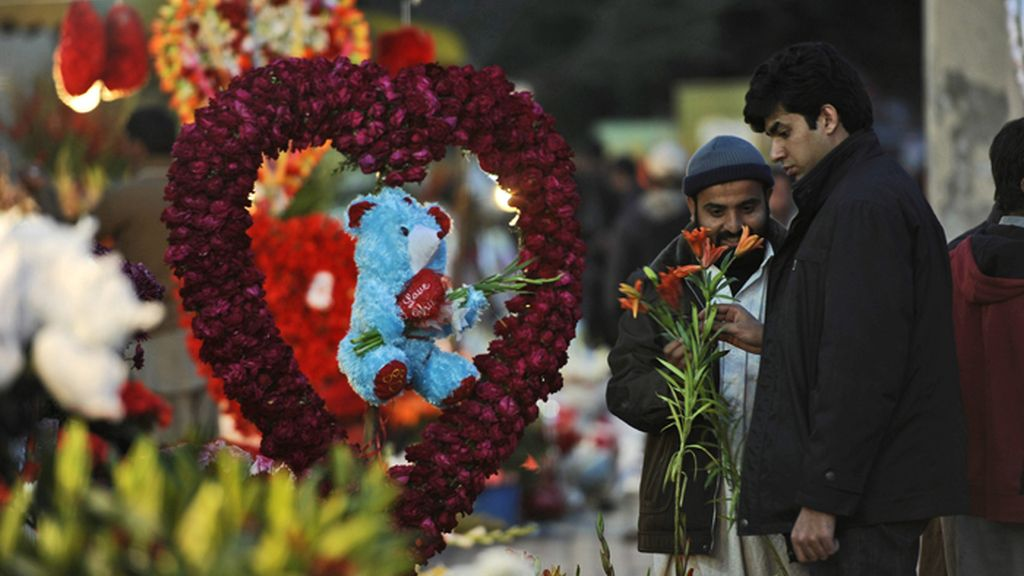 Pakistán se suma a la celebración de San Valentín