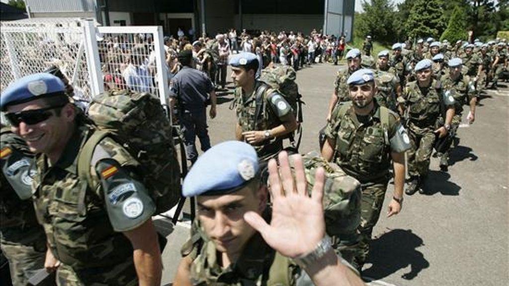 """Militares de la Brigada de Infantería Ligera Aerotransportable """"Galicia"""" VII (BRILAT). EFE/Archivo"""