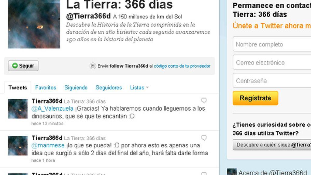 Twitter, @Tierra366d