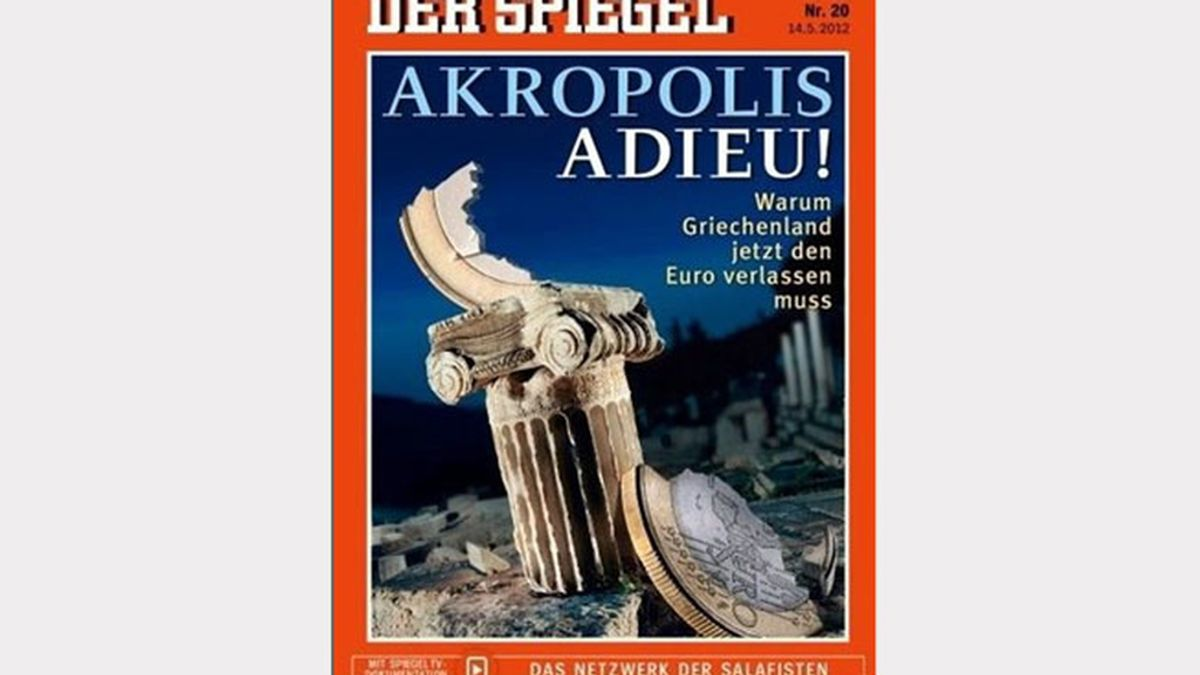 El semanario alemán 'Der Spiegel' da por hecho la salida de Grecia del euro