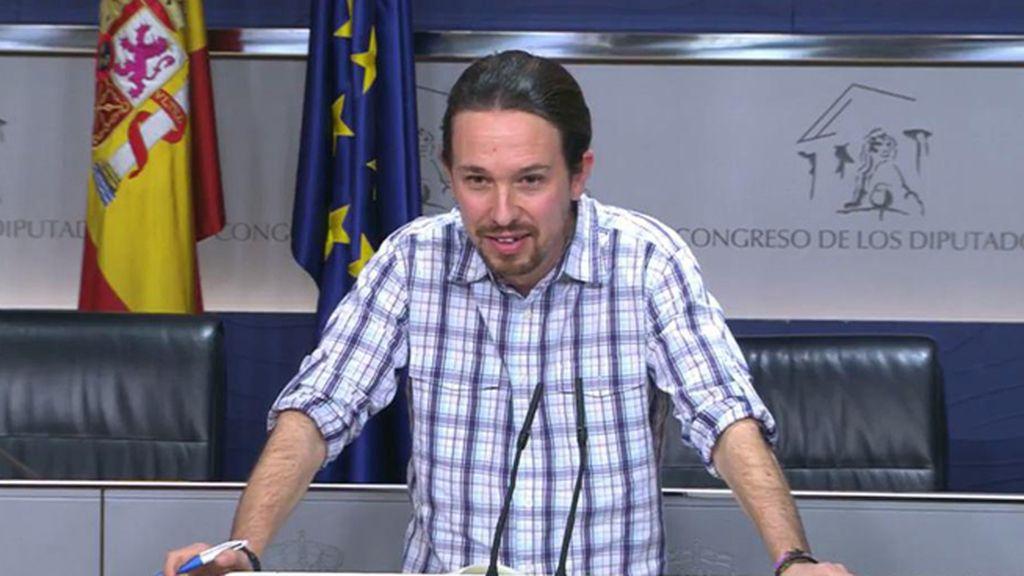 Pablo Iglesias explica su reunión con ERC y DiL