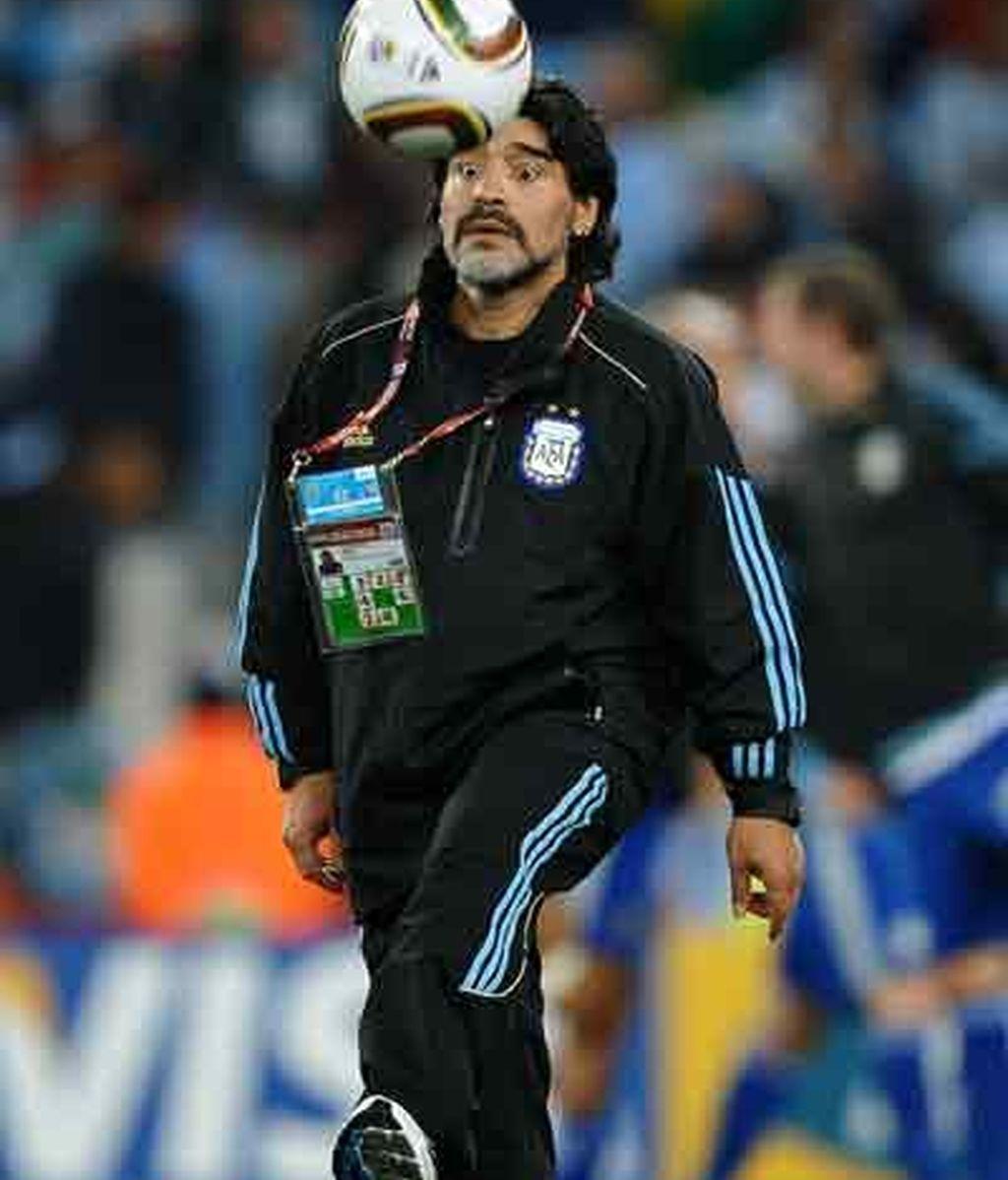 Maradona confía ciegamente en las opciones de Argentina