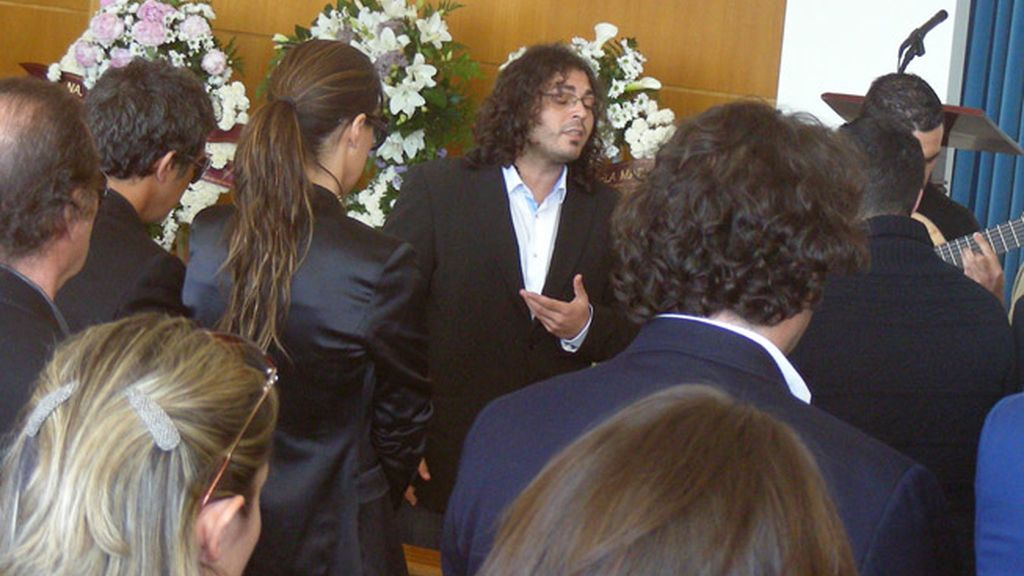 Funeral por la madre de Alejandro Sanz