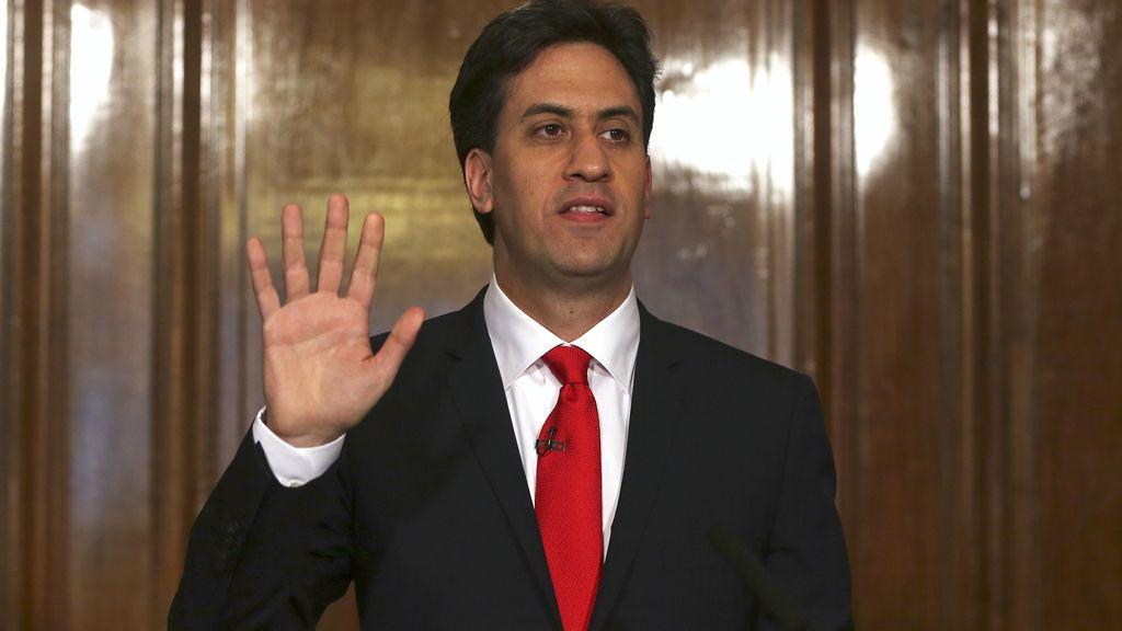 Dimite Ed Miliband, líder del Partido Laborista
