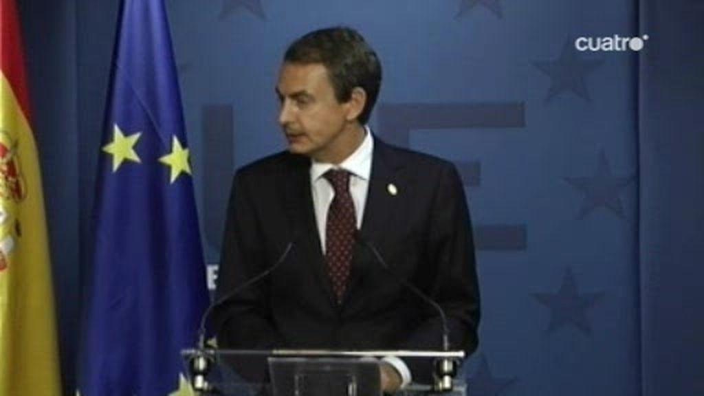 Zapatero no quiere prejuzgar a Sarkozy