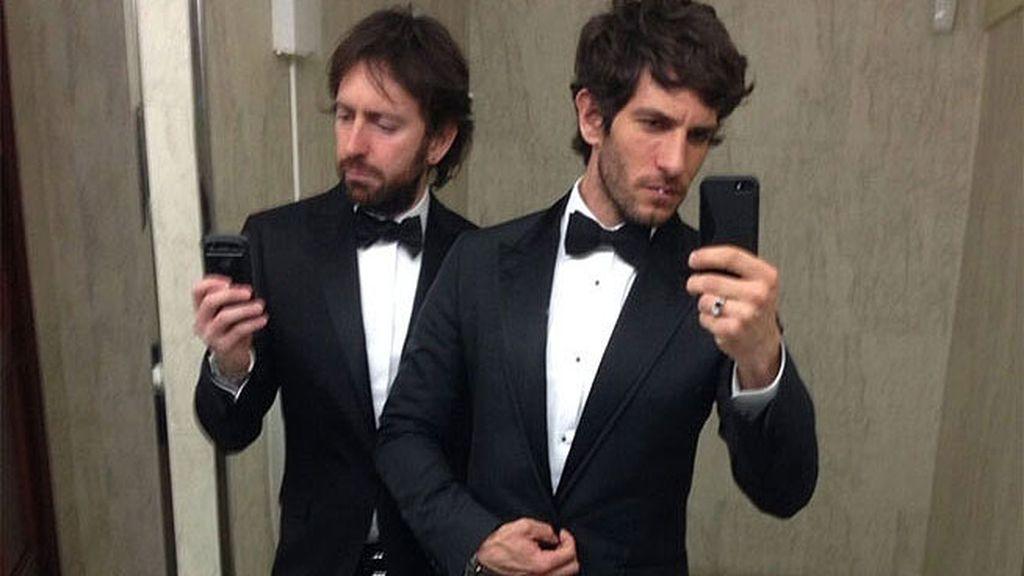 Quim Gutiérrez y Daniel Sánchez Arévalo, 'novios oficiales'