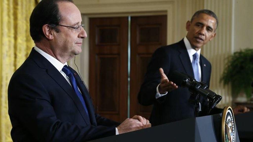 François Hollande y Barack Obama