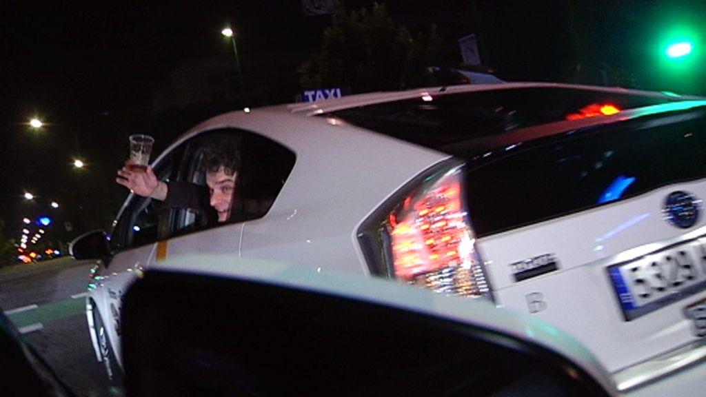 'Callejeros' nos enseña la noche a vista de taxi