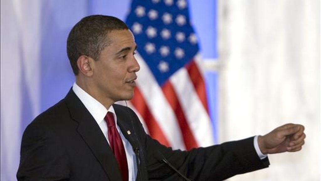 El presidente de Estados Unidos, Barack Obama, y su homólogo de México, Felipe Calderón, hablaron con franqueza de temas espinosos.EFE