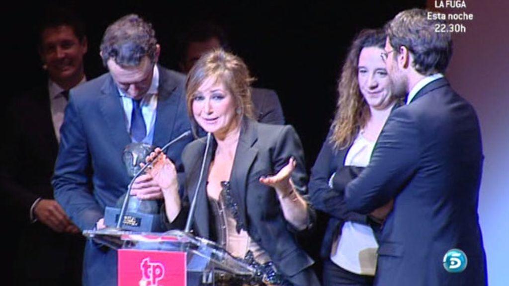 La presentadora y sus chicos lo celebraron por todo lo alto