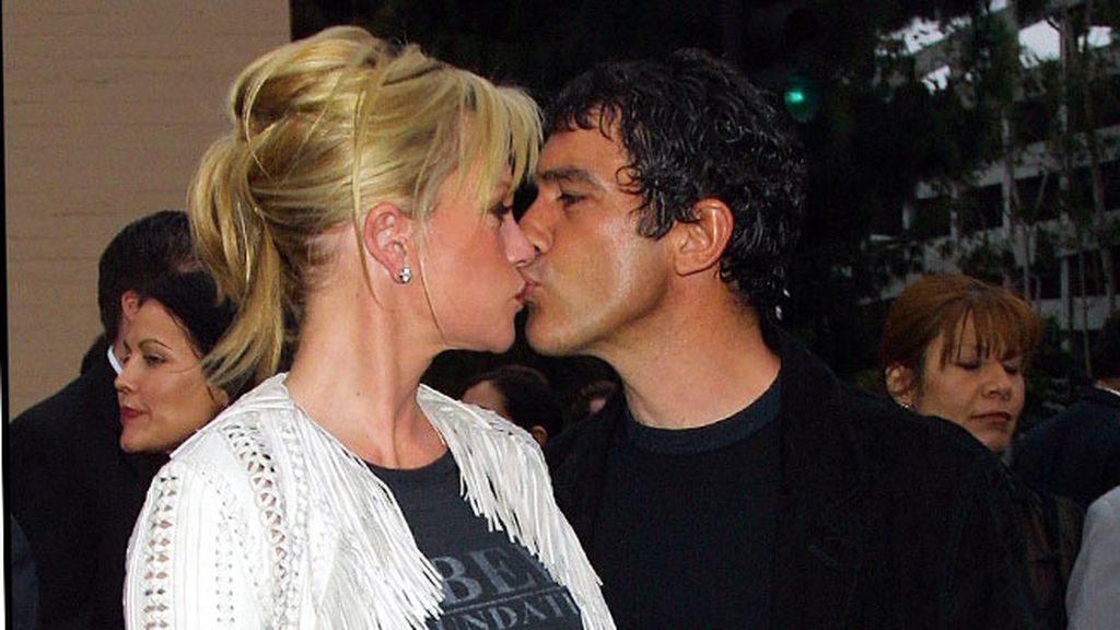 Melanie Griffith y Antonio Banderas, pareja mediática