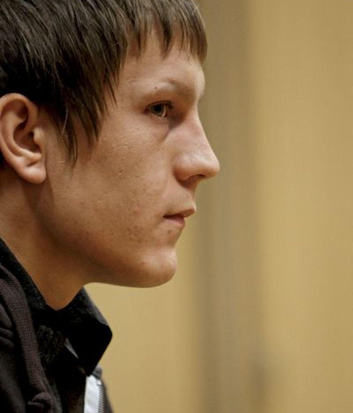 Vladimir, al comienzo del juicio en la Audiencia de Valencia. FOTO: EFE.