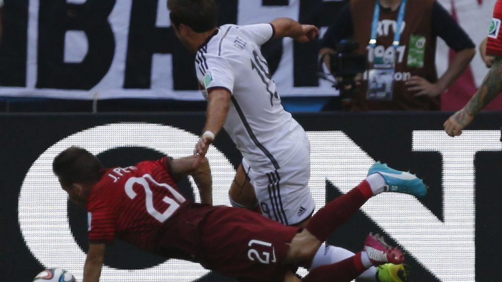El penalti de Pereira sobre Götze abrió el marcador