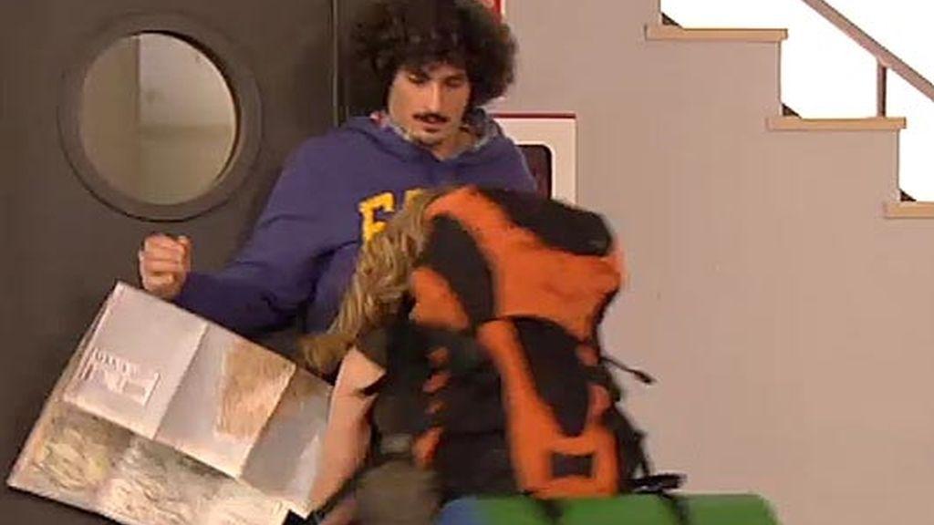 ¡Berta se lanza a besar a Javi!