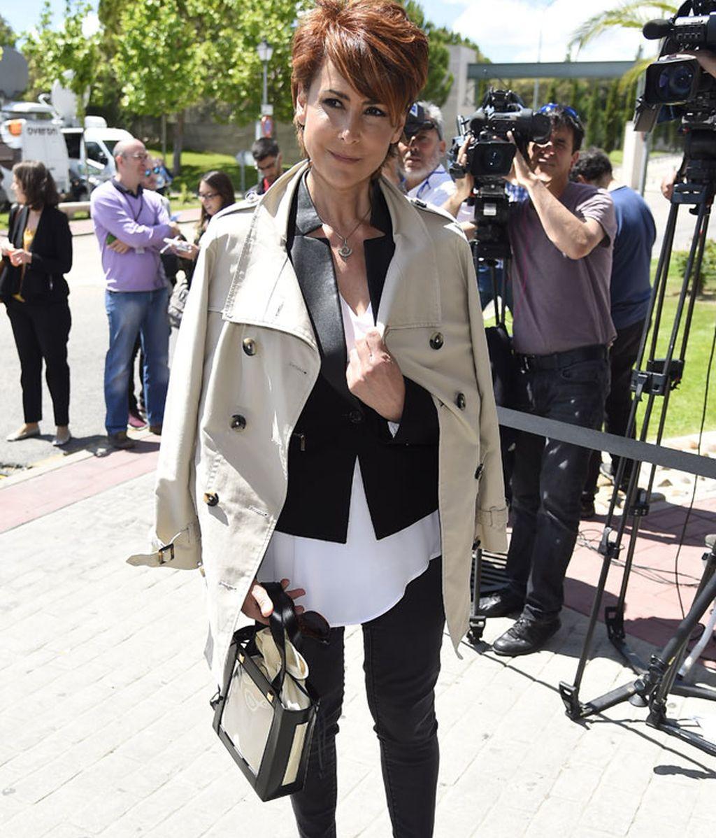 La presentadora Irma Soriano