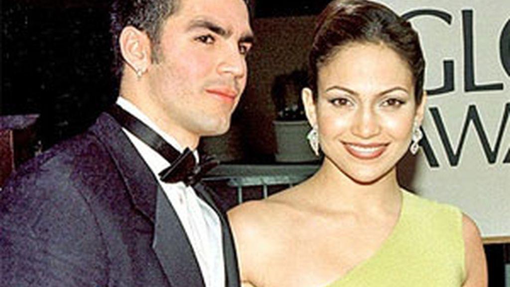 Jennifer López y Ojani Noa en una imagen de archivo.