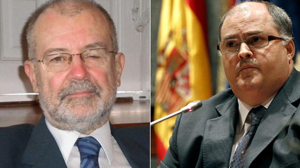 Juan Antonio Xiol y Fernando de Rosa