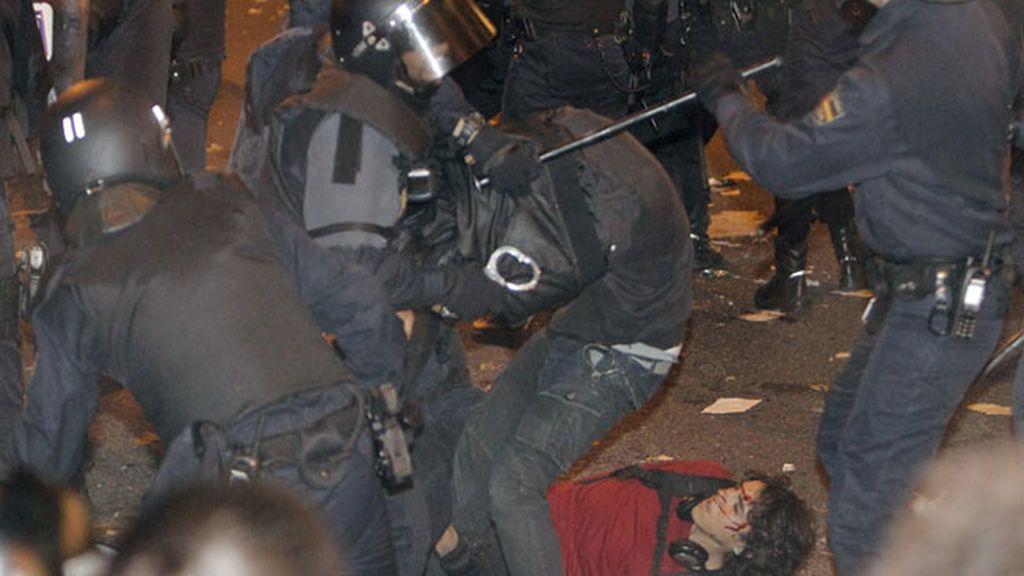 La huelga general, en imágenes