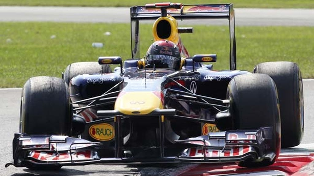 Coche de Vettel