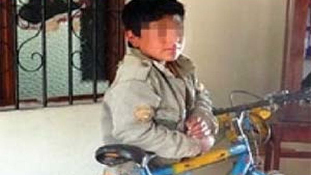 El niño buscó a su madre en bicileta. Foto: www.trome.pe