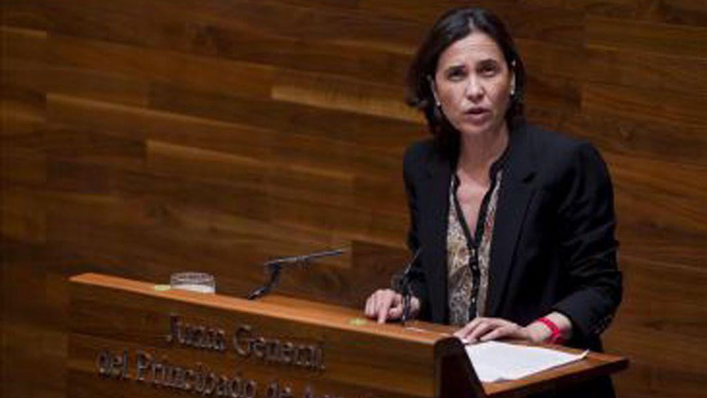 La consejera de Hacienda y Sector Público asturiano, Dolores Carcedo, confirma que Asturia ha solicitado 261,7 millones al  Fondo de Liquidez Autonómico (FLA)