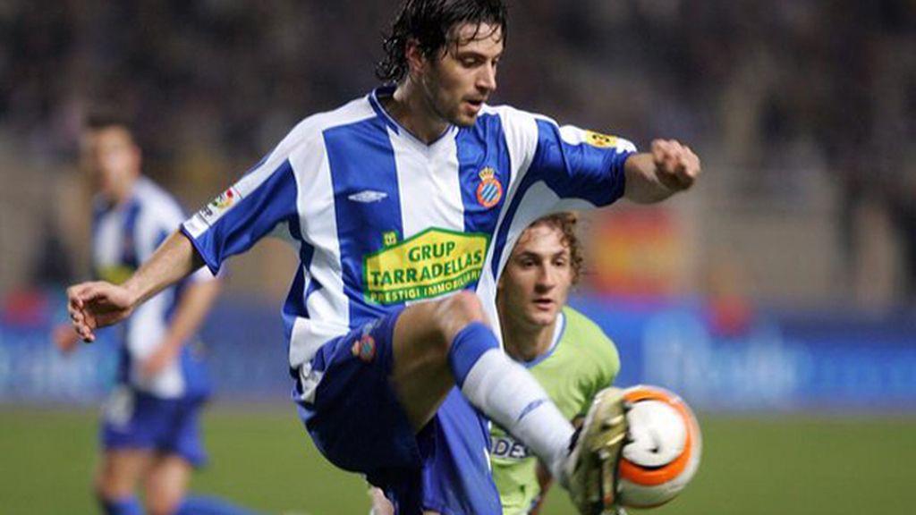 El futbolista del Espanyol, Dani Jarque